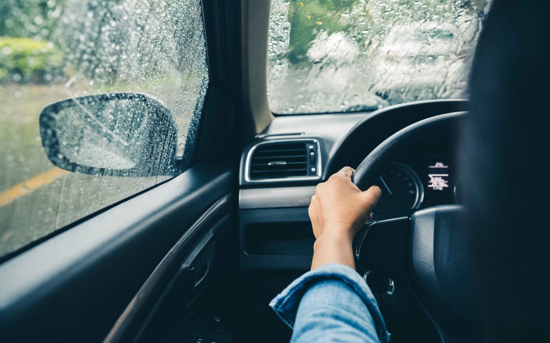 8 tips for driving in the rain.